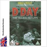 D DAY-THE ALLIES RETURN. New WAR DVD from WestminsterMovies.
