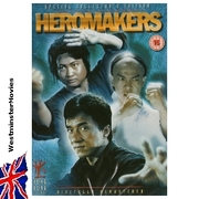 HEROMAKERS - Jackie Chan Martial Arts Action Movie DVD -new-
