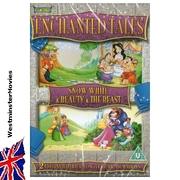 Snow White & Beauty an the Beast. Children Cartoon DVD -new-