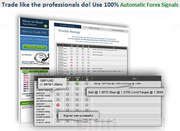 Trade Like The Professionals Do! Use 100% Automatic Forex Signals