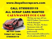 Wanted Any And Van Up To £500 Paid In Cash www.ibuyallscrapcars.com