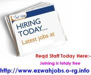 Flexible Job / Part time staff Needed.