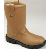 TAN LEATHER LINED RIGGER