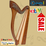 29 String Minstrel Harp, With Case and Learning Book