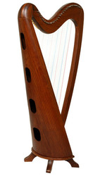 31 String Round back Harp, With Case and Learning Book