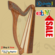 27 String Minstrel Harp, With Case and Learning Book