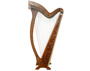 36 String Meghan Harp, With Case and Learning Book