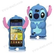 3D Stitch Movable Ear Silicone Case for Samsung Galaxy Note