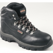 Samson XL black leather hiker S3