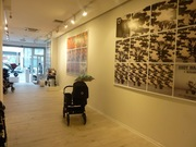 White space and showroom