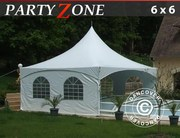 Pagoda Marquee PartyZone 6x6 m PVC