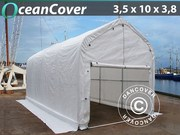 Boat shelter 3, 5x10x3x3, 8 m