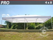 Folding canopy Pro 4x8 m,  white