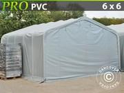 Storage shelter PRO 6x6x3.7 m PVC