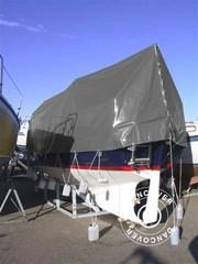 tarpaulin 6x12 m PVC 500 g/m². Grey