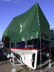 tarpaulin 6x10 m PVC 570 g/m². Green