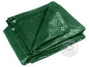 Tarpaulin 10x15 m PE 150 g/m². Green