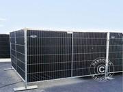 Fence tarpaulin 1, 8x3, 4m,  PE 150 g/m²,  Black