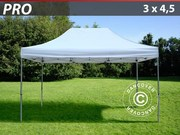 Folding canopy FleXtents Pro 3x4.5 m,  white