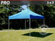 Folding canopy FleXtents Pro 3x3 m,  blue