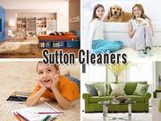 Professional carpet cleaning in Sutton