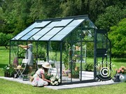 8, 3 m² Juliana Compact Plus greenhouse