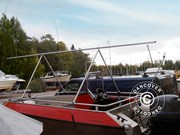 NoTool Deck frame for boat cover 6 m