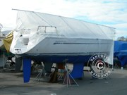 Deck frame for boat cover,  NOA 11 m