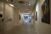 Rental space,  prestigious art galleries in London and Paris