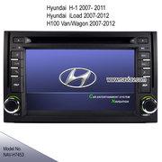 Hyundai H-1 iload H100 Van Vagon radio Car DVD player bluetooth TV GPS