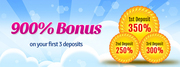Win 900% Deposit Bonus on Bingo Online Games