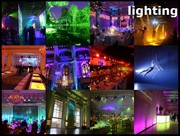 Event lighting service in London