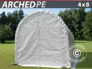 Storage shelter 4x8x3, 8m PE