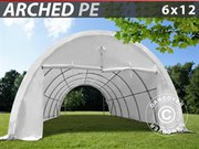 Storage shelter 6x12x3.8 m PE