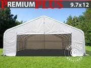 Storage shelter PVC 9.7x12x4.7 m