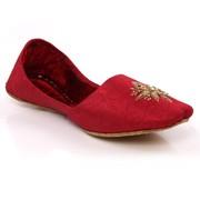Men Leather 'Sayi' Indian Khussa Shoe