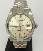 Pre-owned Oyster Perpetual Rolex Air King DATE 5700 Silver Dial
