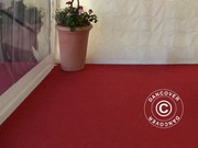Carpet 2x12m chilli red