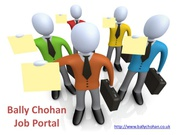 Are You Looking for a  Job? - Bally Chohan Job Portal
