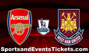 Arsenal Vs West Ham United Tickets