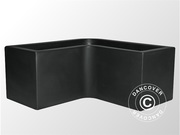 Planter Fenice 100x100x45x45.5 cm,  Anthracite,  2 pcs.