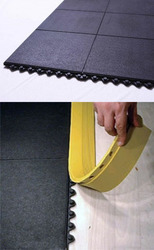 Rubber mats for restaurants and store
