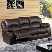 Buy Cadence Reclining Leather Sofa For Sale
