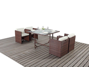 4 Cube Dinning Set Without Footstool