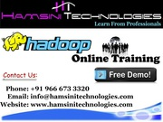 Best Hadoop Live Online Training | Hadoop Real Time Scenario Training