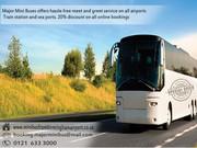 Discount 20% on Minibus and Coaches in Birmingham