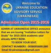 Study in Ukraine for International Students