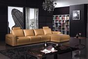 Brown Corner Sofa Suite