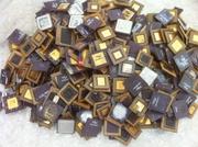 ceramic cpu gold scrap (high yeild) /Ac & fridge compressor scrap