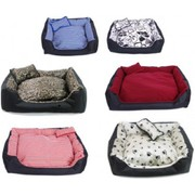 DOG CAT PET PUPPY WATERPROOF WASHABLE BED SMALL MEDIUM LARGE EXTRA LAR